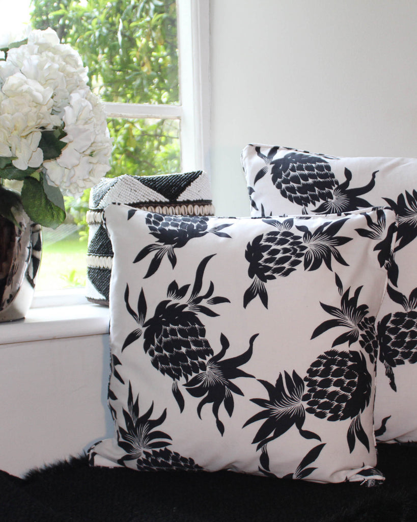 Floating Pineapple Cushion Cover