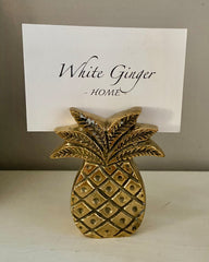 Brass Pineapple Namecard Holder