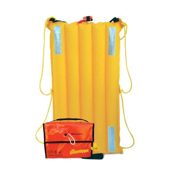 ThrowRaft Survivor Personal Safety Life Raft Auto Inflation