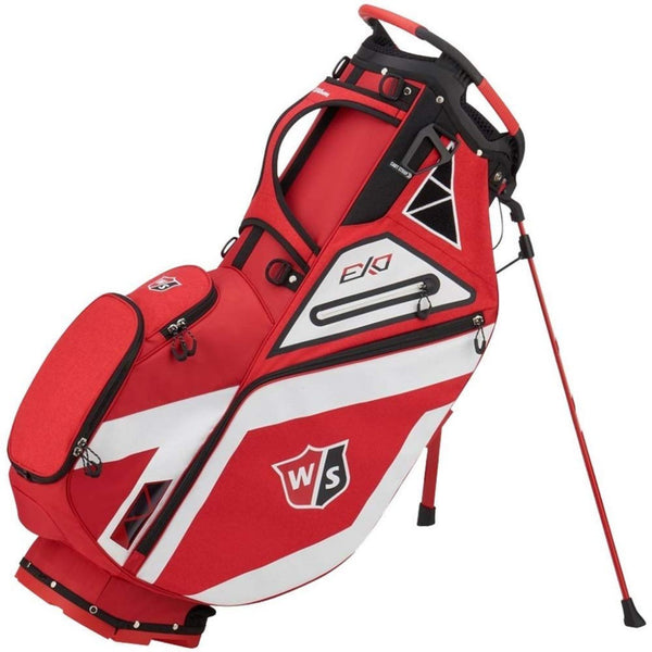 Wilson Staff EXO Carry Golf Bag - Red