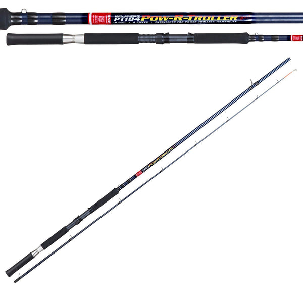 BnM Pow-R-Troller Rod 16ft 3pc 16 Guides