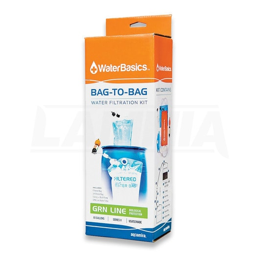 2-Bag Water Filtration Kit