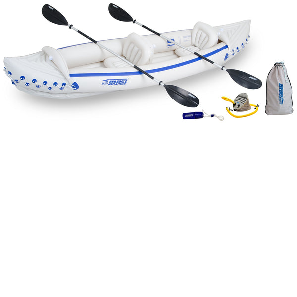 Sea Eagle 370 Sport Kayak Deluxe Package