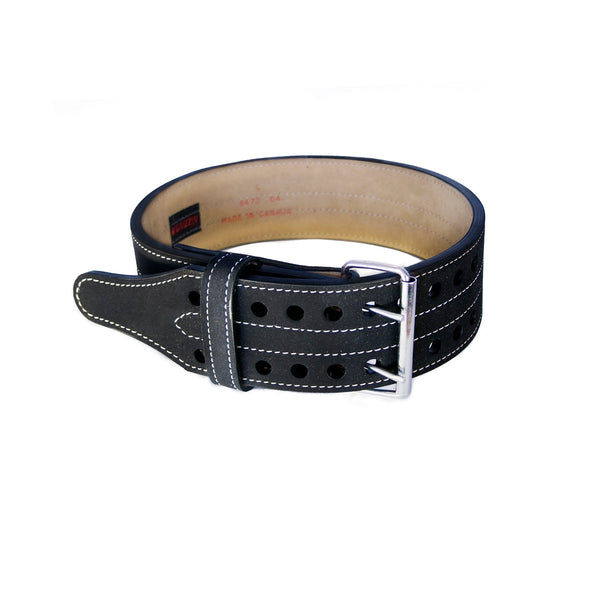 Grizzly 4in Double Prong Powerlifting Belt - Medium