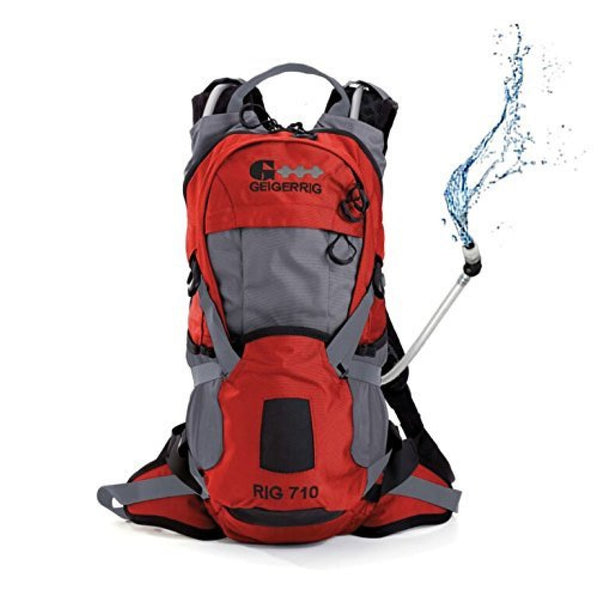 Geigerrig 710 Hydration Pack Orange-Gun Metal