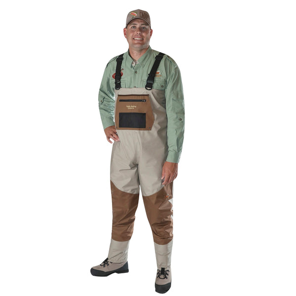 Caddis Mens Deluxe Breathable Stockingfoot Waders - Small
