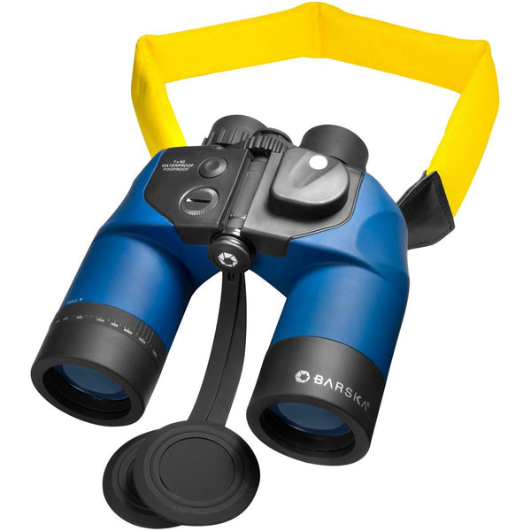 7x50 Deep Sea Waterproof Binocular w/ Internal Rangefinder & Digital Compass