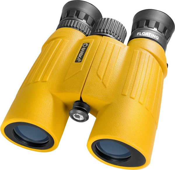 Floatmaster 10x30 Floating Binocular 10x30 WP Floatmaster, Floats, Blue Lens, Yellow