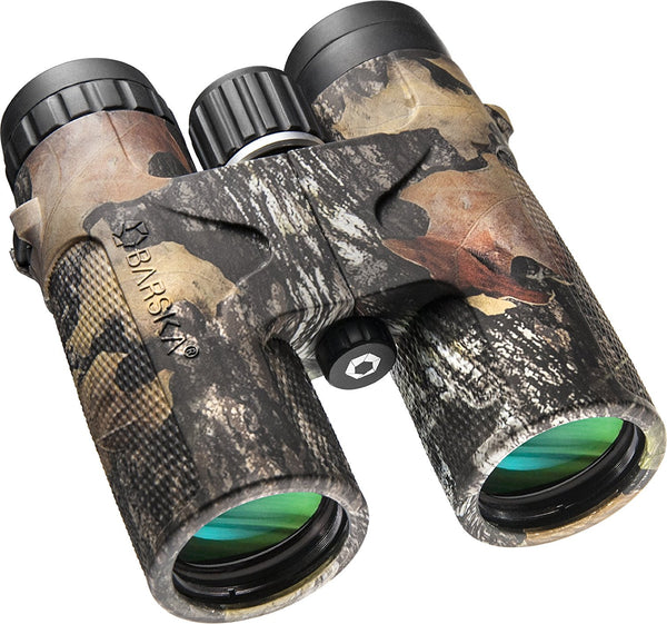Waterproof Roof Prism Blackhawk Binoculars 10x42  Green Lens, Mossy Oak® Break-Up®