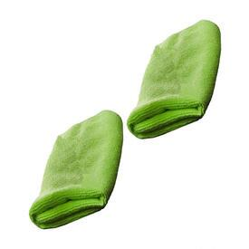 Green Microfiber Towel - 2pk