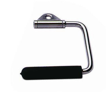 Troy Revolving Stirrup Handle w/ Rubber Grip - Solid