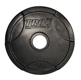 Troy High Grade Urethane Encased Plate, 10 lbs