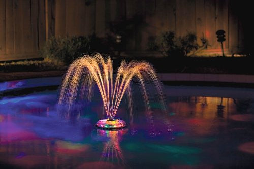 Underwater Light Show & Fountain - Sand Dollar Pools - 2