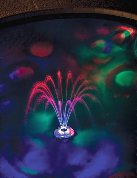 Underwater Light Show & Fountain - Sand Dollar Pools - 3