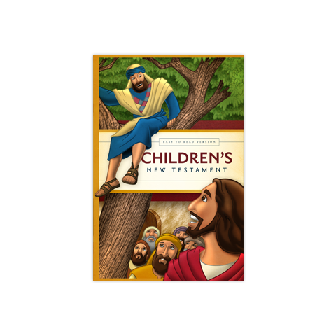 Children's New Testament: The Easy-to-Read Illustrated Version