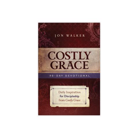 Costly Grace 90 Day Devotional: Daily Inspiration for Discipleship from Costly Grace