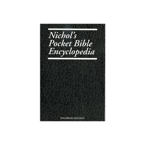 Nichol Pocket Bible Encyclopedia