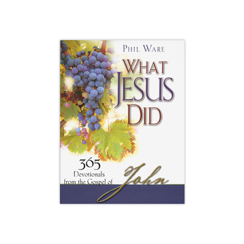 What Jesus Did: 365 Devotionals from the Gospel of John