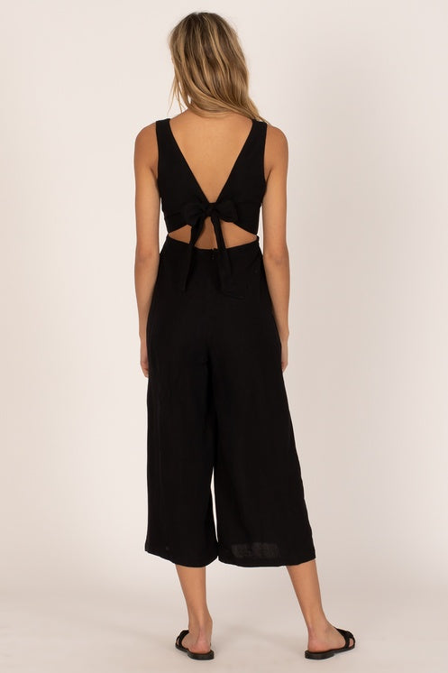 Amuse Society Port Woven Jumpsuit