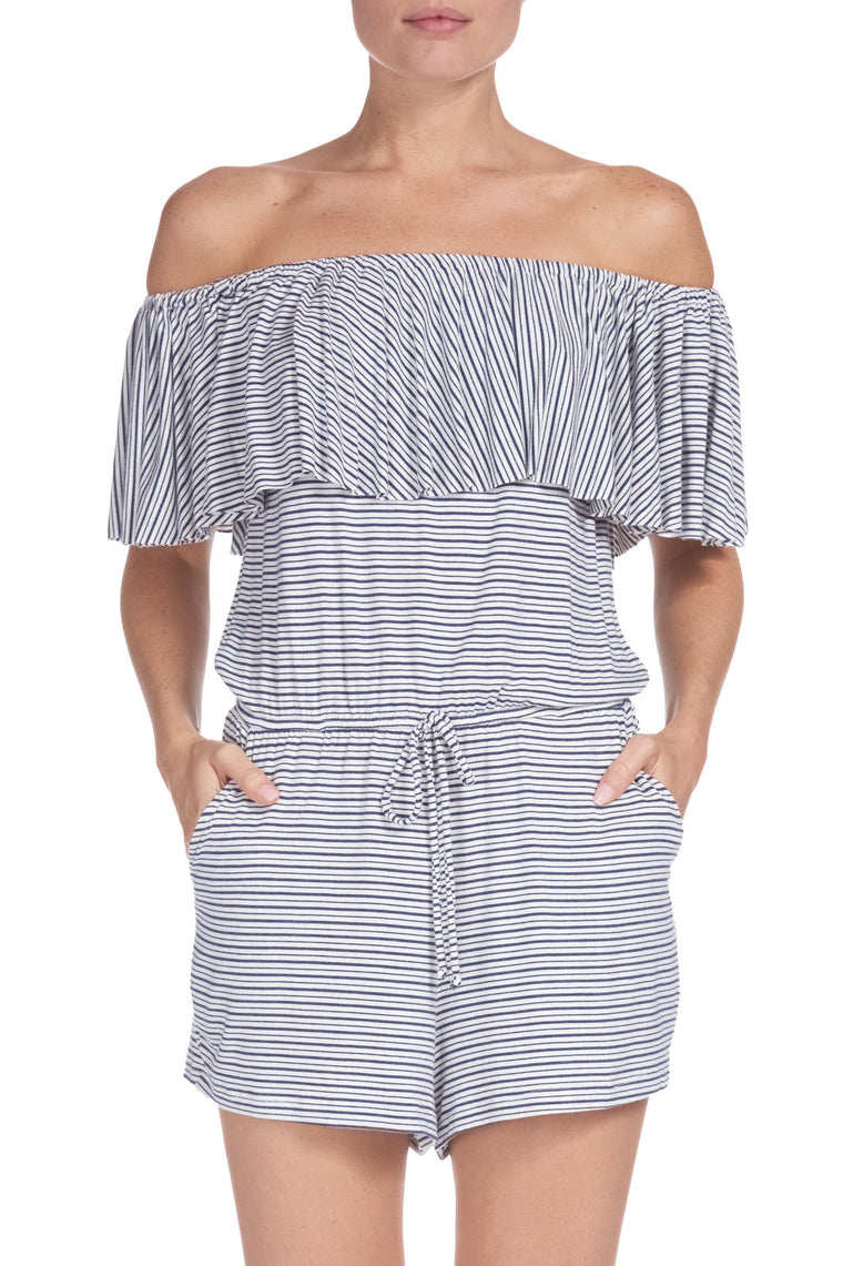 Elan Off The Shoulder Romper