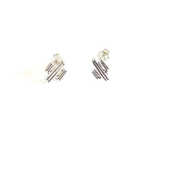 Glass House Goods Cactus Earrings