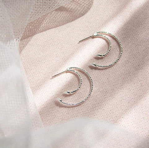 WellDunn Venus Silver Earrings
