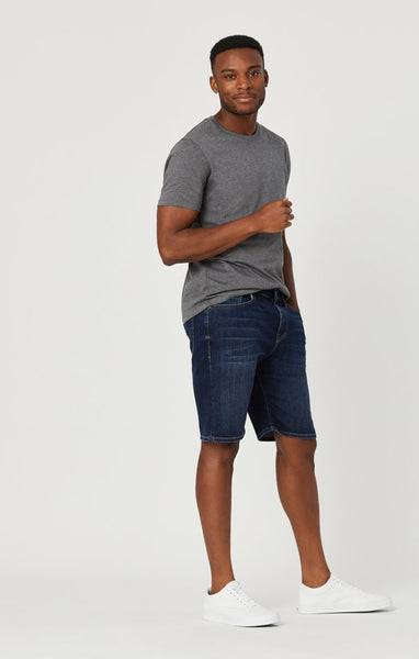 Mavi Brian Deep Brushed Williamsburg Denim Short