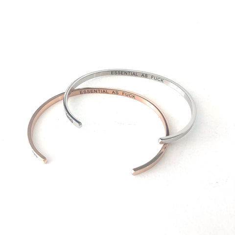 Glass House Goods Stainless Steel Bangles (Assorted)