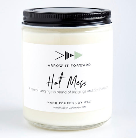 Arrow It Forward Hot Mess Soy Candle