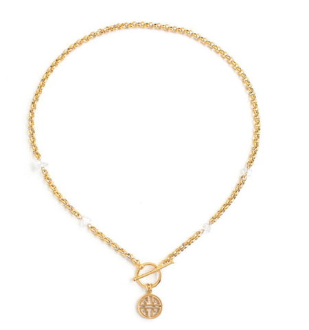 WellDunn Silex Gold Necklace