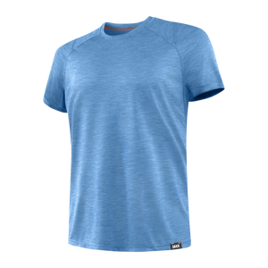 SAXX Aerator Tee - Racer Blue Heather