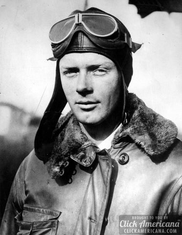 Picture Of Charles Augustus Lindbergh Aviator