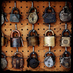 Picture Of Old Locks and Keys