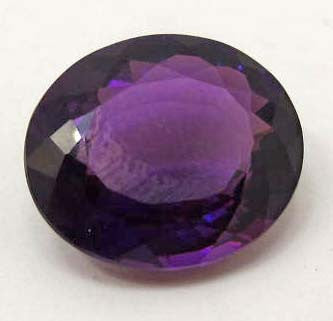 Oval-Cut Purple Amethyst Gemstone, Brazil - Roadshow Collectibles