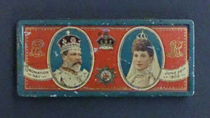 June 26th 1902 Souvenir Tin For The Coronation Of Edward VII - Roadshow Collectibles