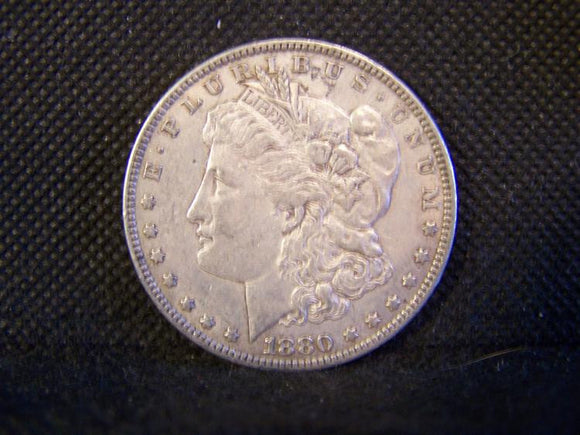 Morgan 1880 Silver Dollar, XF - Roadshow Collectibles