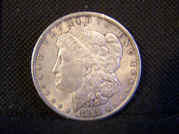 Morgan 1889 Silver Dollar, XF - Roadshow Collectibles