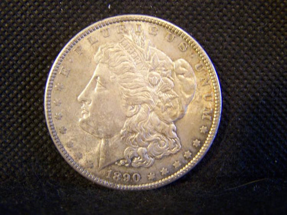 Morgan 1890 Silver Dollar, Slider Uncirculated - Roadshow Collectibles
