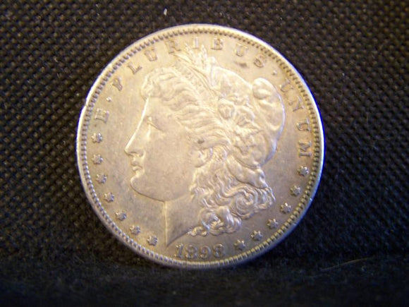 Morgan 1898 'S' Silver Dollar, XF - Roadshow Collectibles