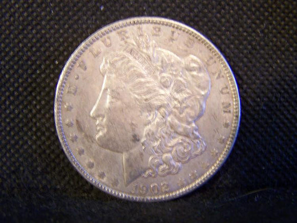 Morgan 1902 Silver Dollar, XF - Roadshow Collectibles