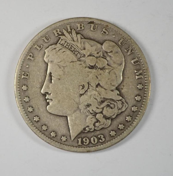 Morgan 1903 'S' Silver Dollar, VG Semi Key - Roadshow Collectibles