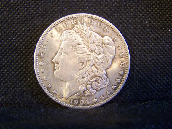 Morgan 1904 'O' Silver Dollar, Slider Uncirculated - Roadshow Collectibles