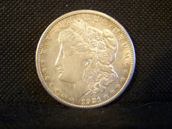 Morgan 1921 'S' Silver Dollar - Roadshow Collectibles