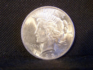 Peace 1923 Silver Dollar, AU - Roadshow Collectibles