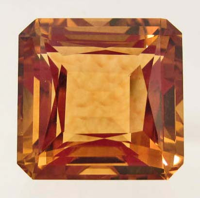 Golden Orange Brazilian Citrine Gemstone - Roadshow Collectibles