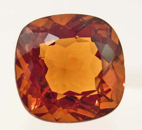 Golden Orange Brazilian Citrine - Roadshow Collectibles