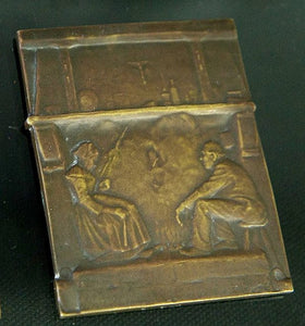 Miniature Plaque Cast In Copper, Period - WW1, 1914-1918 - Roadshow Collectibles