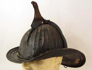 1880's Cairns Fireman's Metal Helmet with Eagle Crest - Roadshow Collectibles