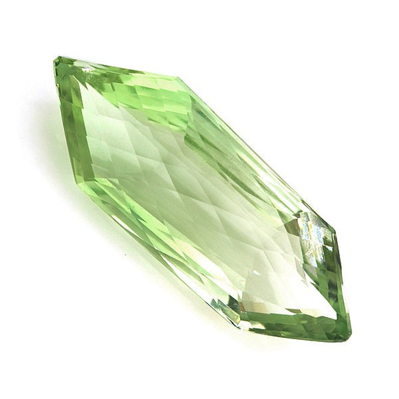 Green Quartz Gemstone Free Form Cut - Roadshow Collectibles