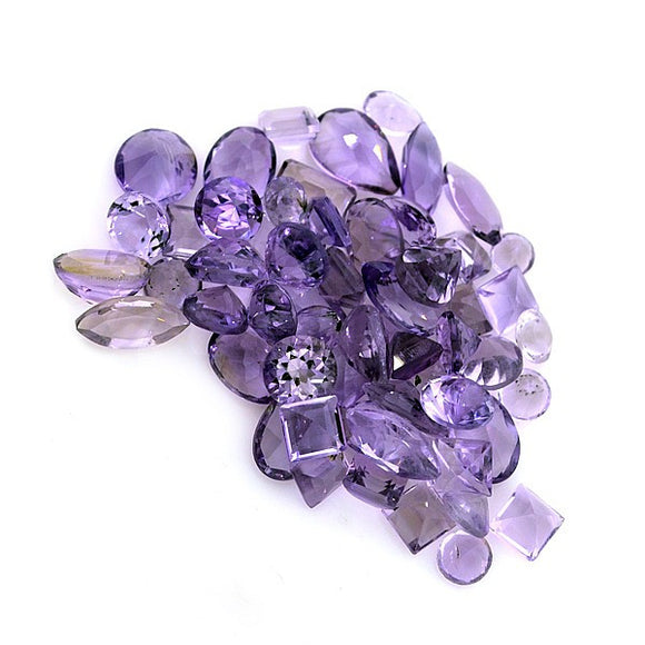 Purple Amethyst Gemstones, Various Shapes & Sizes, Africa - Roadshow Collectibles
